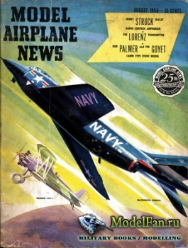 Model Airplane News (August 1954)