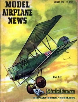 Model Airplane News (January 1956)