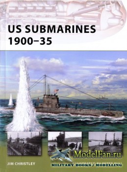 Osprey - New Vanguard 175 - US Submarines 1900-1935