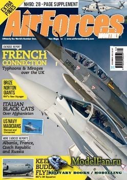 Air Forces Monthly №12 2013