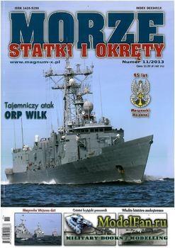 Morze Statki i Okrety №11/2013
