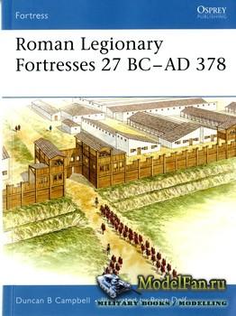 Osprey - Fortress 43 - Roman Legionary Fortresses 27 BC - AD 378