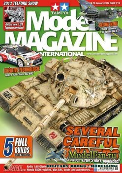 Tamiya Model Magazine International №209 (January 2014)