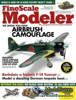 FineScale Modeler Vol.32 №02 (February) 2014