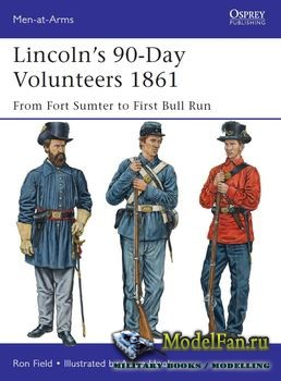 Osprey - Men-at-Arms 489 - Lincoln's 90-Day Volunteers 1861