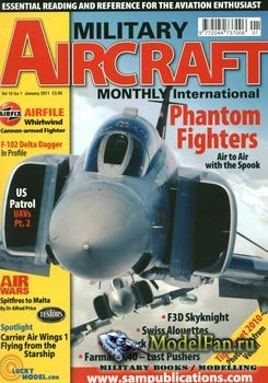Military Aircraft Monthly International January 2011 (Vol.10 Iss.01)