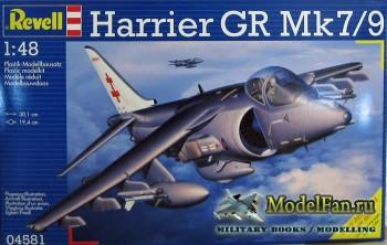 Обзор Revell 1/48 Harrier GR Mk.7/9