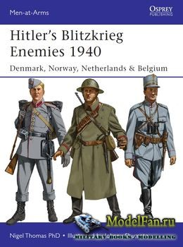 Osprey - Men-at-Arms 493 - Hitler's Blitzkrieg Enemies 1940