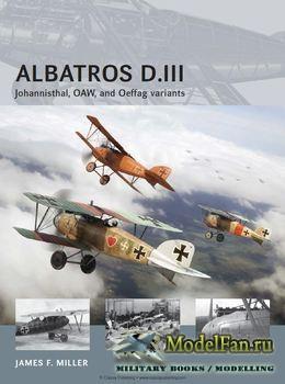 Osprey - Air Vanguard 13 - Albatros D.III: Johannisthal, OAW, and Oeffag va ...