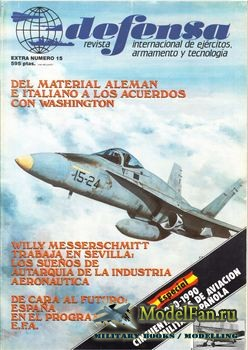 Defensa Extra №15 - Cincuenta Anos de Aviacion Militar Espanola 1940-1990