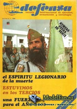 Defensa Extra №1 - La Legion Espanola 1920-1980