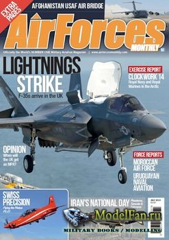 Air Forces Monthly №7 2014