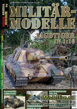 Truckmodell Spezial №4 - Militar-Modelle Jagdtiger in 1:16
