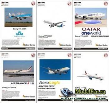 Paper-replika - Boeing 777