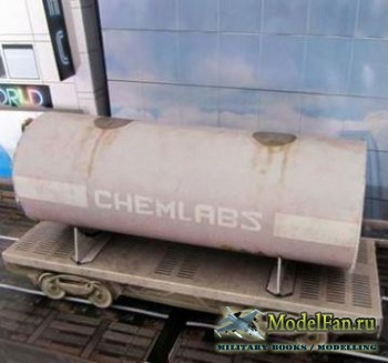 Chemical Container Wagon
