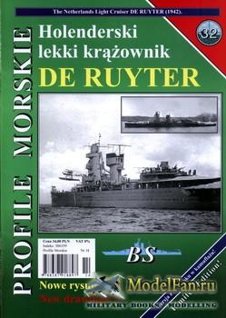 Profile Morskie 32 - Holenderski Lekki Krazownik De Ruyter