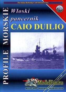 Profile Morskie 33 - Wloski Pancernik Caio Duilio