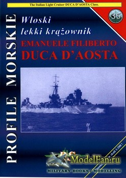 Profile Morskie 35 - Wloski Lekki Krazownik Emanuele Filiberto Duca D'Aost ...