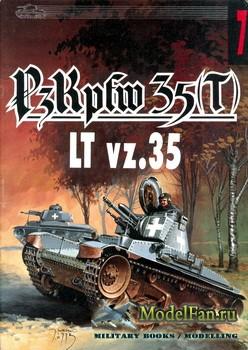 Wydawnictwo Militaria №7 - PzKpfw 35(t) LT vz.35