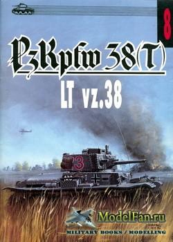 Wydawnictwo Militaria №8 - PzKpfw 38(t) LT vz.38