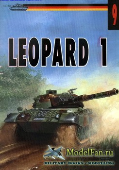 Wydawnictwo Militaria №9 - Leopard 1