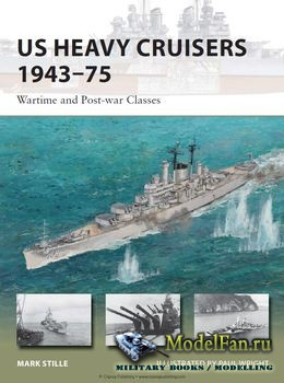 Osprey - New Vanguard 214 - US Heavy Cruisers 1943-1975