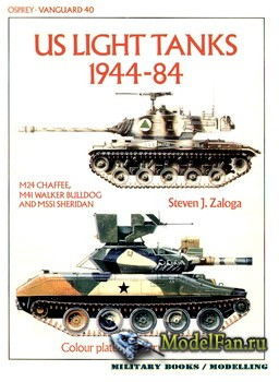 Osprey - Vanguard 40 - US Light Tanks 1944-84