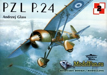 Wydawnictwo Militaria (Avia Series №2) - PZL P.24