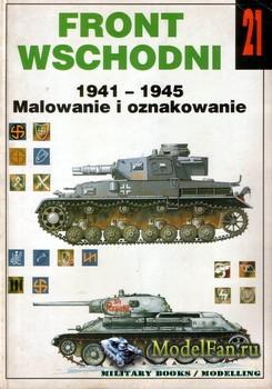 Wydawnictwo Militaria №21 - Front Wschodni 1941-1945 Malowanie i oznakowani ...