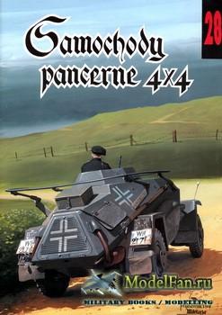 Wydawnictwo Militaria №28 - Samochody pancerne 4x4