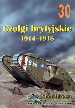 Wydawnictwo Militaria №30 - Czolgi Brytyjskie 1914-1918