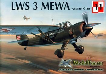 Wydawnictwo Militaria (Avia Series №11) - LWS 3 Mewa