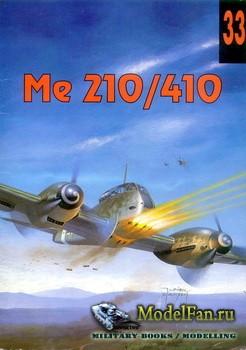Wydawnictwo Militaria №33 - Messerschmitt Me210/Me410 (Me 210/410)
