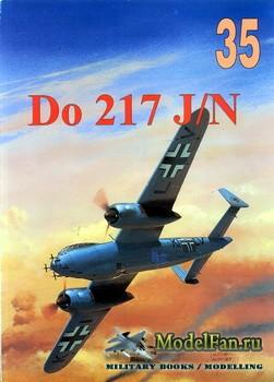Wydawnictwo Militaria №35 - Dornier Do-217 J/N