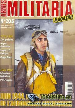 Armes Militaria Magazine №205 2002
