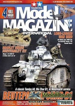 Tamiya Model Magazine International №229 (November 2014)