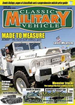 Classic Military Vehicles №162 (November 2014)