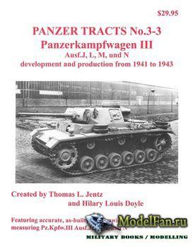 Panzer Tracts No.3-3 - Panzerkampfwagen III Ausf.J, L, M, und N