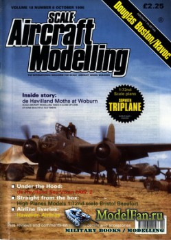 Scale Aircraft Modelling (October 1996) Vol.18 №8