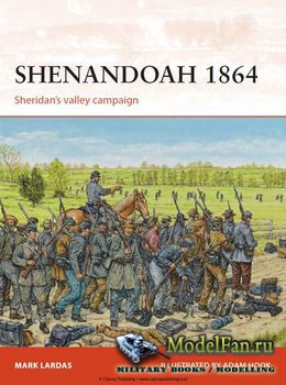 Osprey - Campaign 274 - Shenandoah 1864: Sheridan's valley campaign