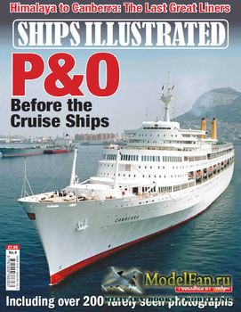 Ships Illustrated - P&O Before the Cruise Ships