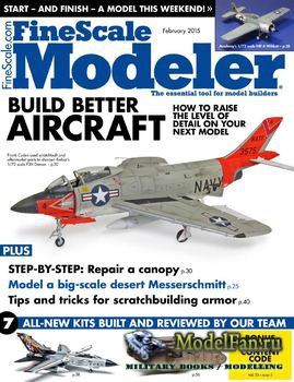 FineScale Modeler Vol.33 №02 (February) 2015