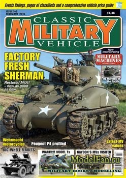 Classic Military Vehicles №165 (February 2015)