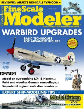 FineScale Modeler Vol.33 №03 (March) 2015