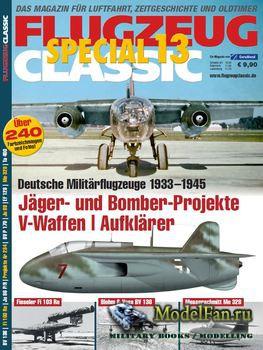 Flugzeug Classic Special 13 - Deutsche Militarflugzeuge 1933-1945