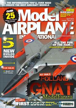 Model Airplane International №117 (April 2015)