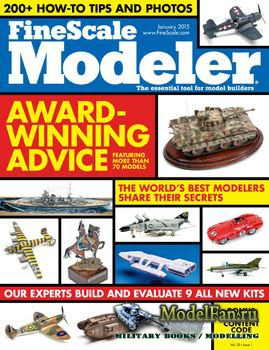 FineScale Modeler Vol.33 №01 (January) 2015