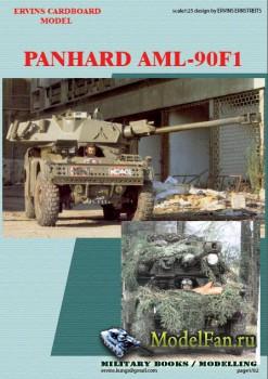 Ervins Cardboard Model - Panhard AML90F1