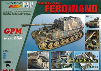 GPM 354 - SdKfz 184 Ferdinand