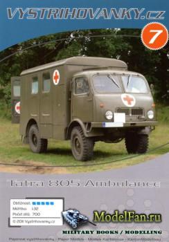 Vystrihovanky № 7 - Tatra 805 Ambulance